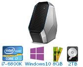 外星人(Alienware)ALWA51R-4738  游戏台式机电脑( i7-6800K 8GB 2T+128G SSD GTX1070 8GB独显 Win10)