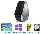 外星人(Alienware)ALWA51R-4838  游戏台式机电脑( i7-6850K 16GB 4T+256G SSD GTX1080 8GB独显 Win10)