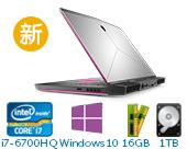 外星人(Alienware)ALW15C-R1838 15.6英寸游戏笔记本电脑非触控(i7-6700HQ 16G 1T+256G SSD GTX 1060 6G独显 FHD Win10)