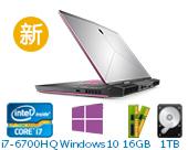 外星人(Alienware)ALW17C-R1748 17.3英寸游戏笔记本电脑非触控(i7-6700HQ 16G 1T+256G SSD GTX 1070 8G独显 FHD Win10)