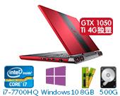 戴尔(DELL)灵越游匣Master15 Ins15-7567-R1745P 15.6英寸高配游戏非触控笔记本电脑(i7-7700HQ 8GB 500G+128G SSD GTX 1050Ti 4G独显 Win10) 超跑版