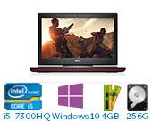 戴尔(DELL)灵越游匣Master14 Ins14-7467-R1545B 14.0英寸高配游戏非触控笔记本电脑(i5-7300HQ 4GB 256GB SSD 4G独显 Win10)湛黑