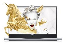 灵越燃7000 15.6英寸微边框轻薄本 Ins15-7560-R1745S 非触控笔记本电脑(第7代i7-7500U 8GB 1T+128G SSD 940MX 4G独显 FHD Win10)流光银