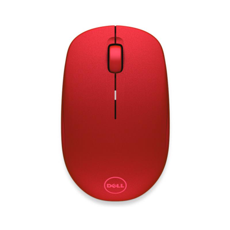 戴尔无线鼠标 - WM126 - 红色