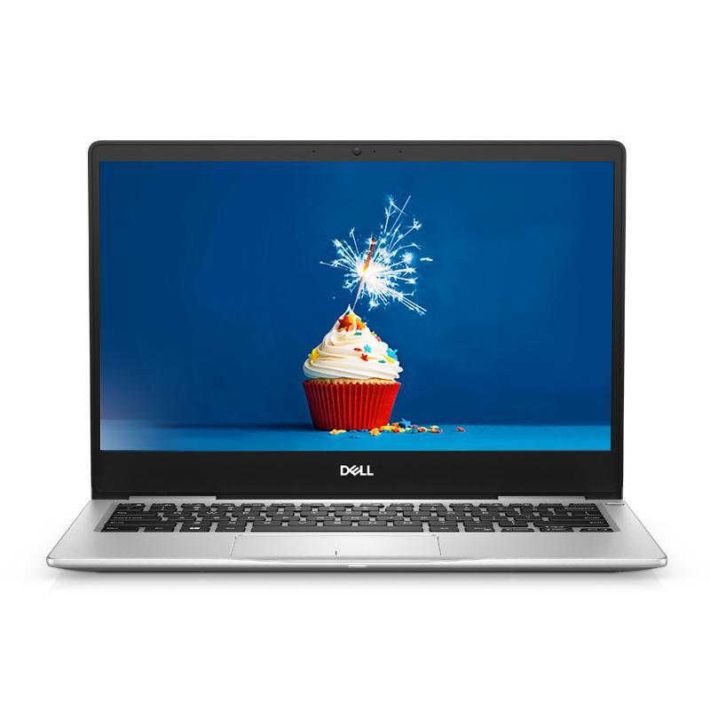全新灵越7000 13.3英寸微边框轻薄本 Ins 13-7380-R1805S 非触控屏笔记本电脑(i7-8565U Windows 10 家庭版 16GB 512GB SSD FHD )铂金银