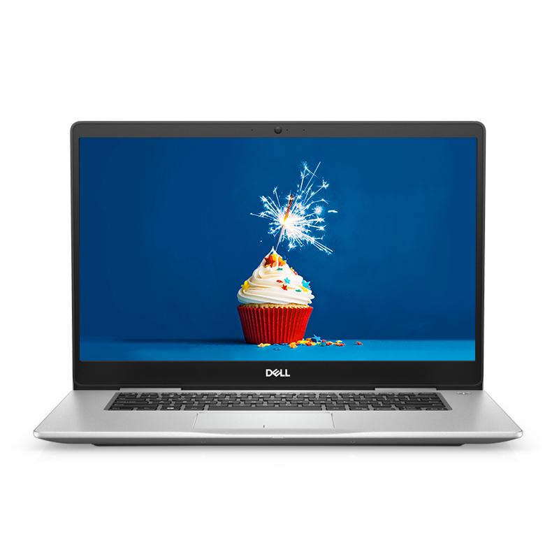 全新灵越7000 15.6英寸微边框轻薄本 Ins 15-7580-R1825S  非触控笔记本电脑(第8代 i7-8565U Windows 10 家庭版 16GB 512GB SSD MX150 2G独显 FHD )铂金银