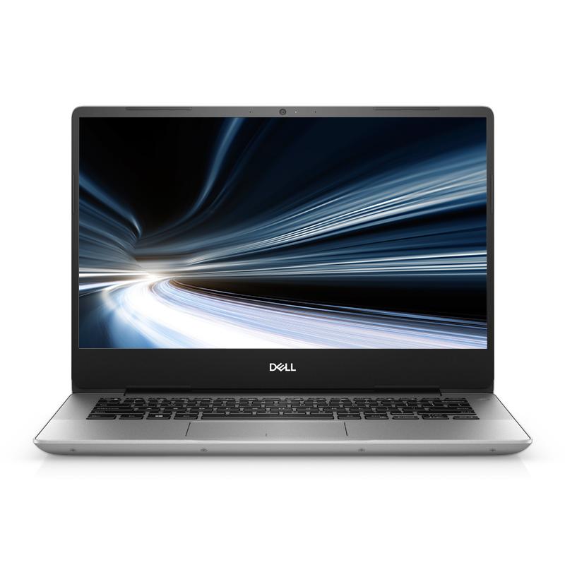 全新灵越5000 14.0英寸微边框轻薄本 Ins 14-5488-R1505S 非触控笔记本电脑(第8代 i5-8265U Windows 10 家庭版 8GB 256GB SSD UHD 620显卡 FHD )流光银