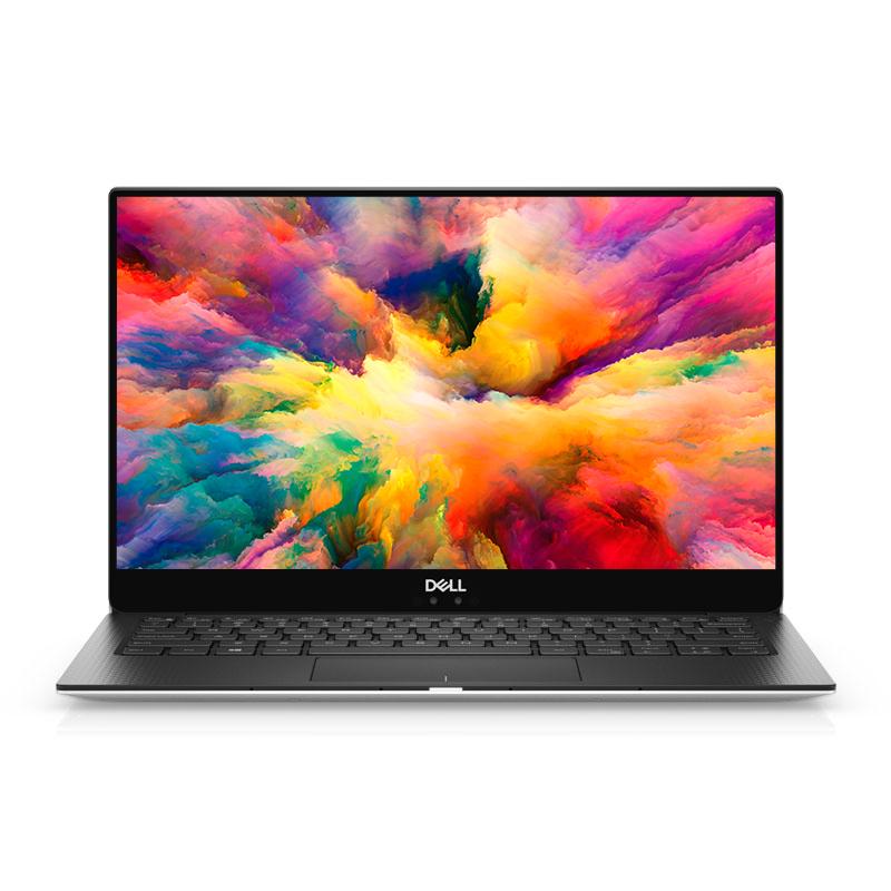XPS 13 13.3英寸全景微边框轻薄本 XPS13-9370-R1605S 非触控笔记本电脑(i5-8250U Windows 10 家庭版 8G 256G SSD UHD显卡 FHD)冰河银