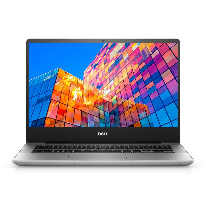 灵越5000 14.0英寸微边框轻薄本 Ins 14-5488-R1505S 非触控笔记本电脑(第8代 i5-8265U Windows 10 家庭版 8GB 256GB SSD UHD 620显卡 FHD )流光银