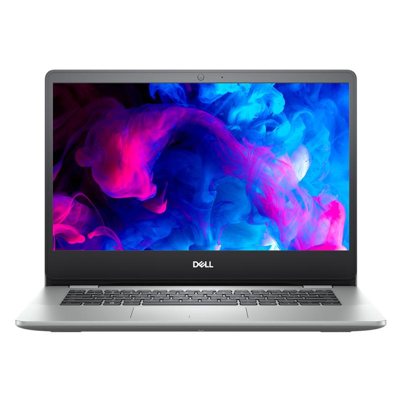 灵越5000(5493) 14英寸笔记本 Ins 14-5493-R1525S 笔记本电脑(第10代 i5-1035G1 Windows 10 家庭版 4GB 256GB SSD MX230 2G显卡 FHD )银色