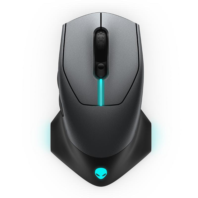Alienware 有线/无线游戏鼠标 AW610M - 570-ABCS 黑色