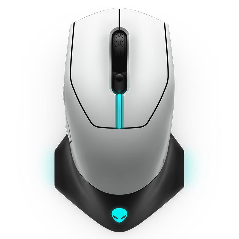 Alienware 有线/无线游戏鼠标 AW610M - 570-ABCQ 白色