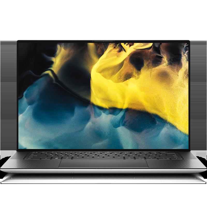 XPS 15(9500) 15.6英寸旗舰创作本 XPS 15-9500-R1845TS 触控屏笔记本电脑(第10代 i7-10750H  Windows 10家庭版 32GB 1TB SSD GTX 1650Ti  4GB显卡)冰河银