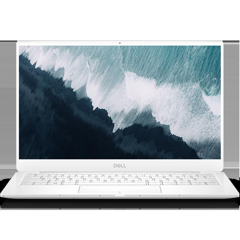 XPS 13(7390)商务轻薄本 XPS 13-7390-R1505W 笔记本电脑(第10代 i5-10210U Windows 10 家庭版 8G 512G SSD UHD显卡)霜露白