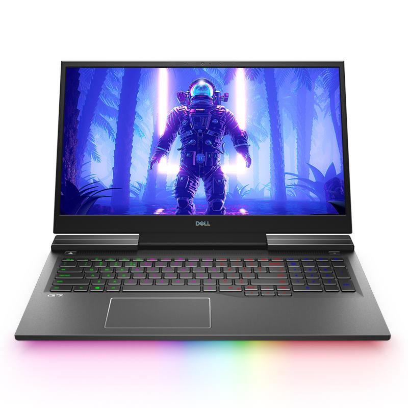 G7 17.3英寸精工大屏游戏本(黑色)  进阶版 12区RGB底盘光刃300Hz超高刷新率