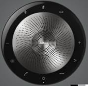 捷波朗(Jabra)Speak 710 MS视频会议全向麦克风免驱蓝牙(2台无线串联 适合10-60㎡大中小型会议室 2-9米拾音)
